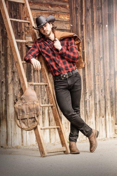 Western Fashion Fur Manner Die Noch Manner Sind Western Fashion Von Stars Stripes