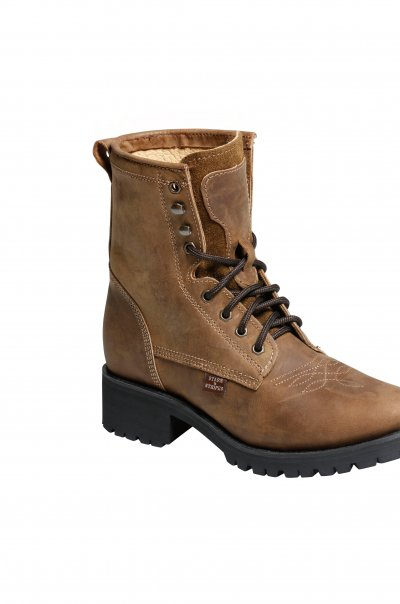 WB 34 brown Boots right